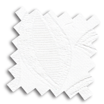 VALE White and Cream Roman Blind | Cresswell Snow