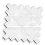 VALE White and Cream Roman Blind | Elvaston White