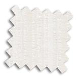 VALE White and Cream Roman Blind | Hesper Natural