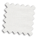 VALE White and Cream Roman Blind | Seymour Ivory