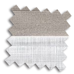 VALE Flat Roof Day Night Honeycomb Blind | Uni Blackout 9248 & Batiste 9446
