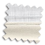 Luxaflex 25mm Day & Night Duette Blind | Uni Blackout 4206 & Batiste 9446
