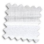 Luxaflex 25mm Day & Night Duette Blind | Uni Blackout 4207 & Batiste 9446