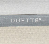 Luxaflex SimpleFit 25mm Duette Room Darkening Blind | Unik Duo Tone 4206