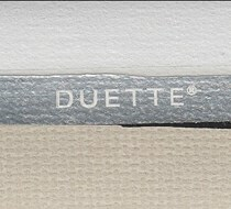 Luxaflex SimpleFit 25mm Duette Room Darkening Blind | Unik Duo Tone 9247