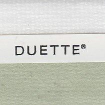 VALE 25mm Unix Duo Tone Translucent Duette Blind   Wild Jungle 3735