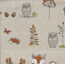 VALE Roman Blind - Creative Collection | Wilderness Multi