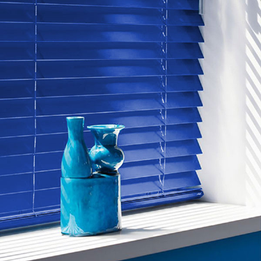 Luxaflex 68mm Wooden Venetian Blind - Custom Colour