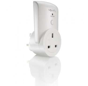 Somfy Electric Socket for Remote Control Lights