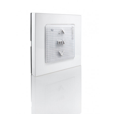 Somfy Origin Smoove Wall Switch - White