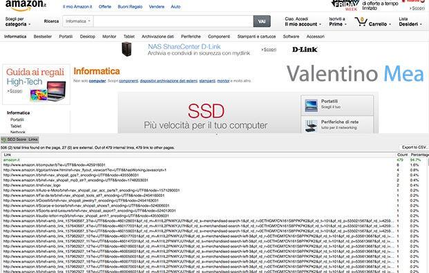 Amazon categoria Informatica