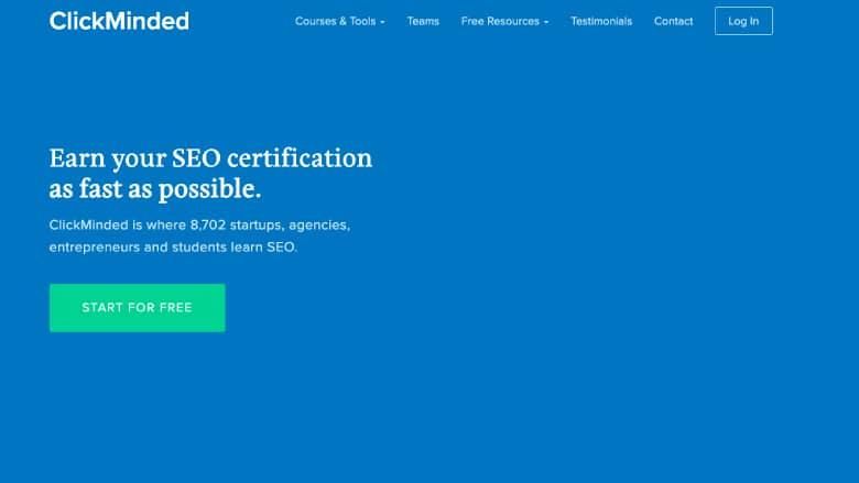 Clickminded Certificazione SEO Google