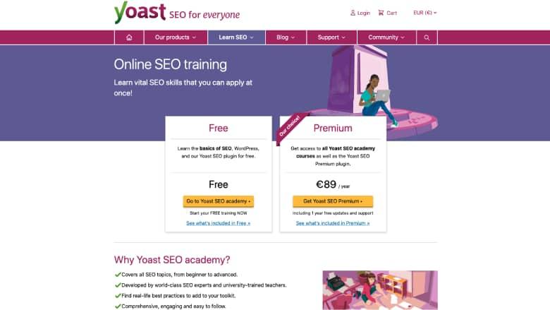 Corso Yoast SEO Training