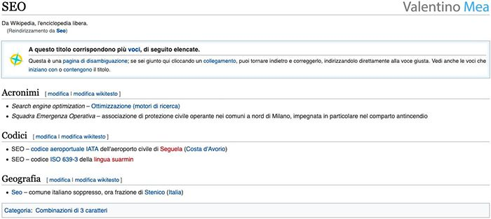 Wikipedia esempio argomento