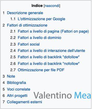 Wikipedia indice