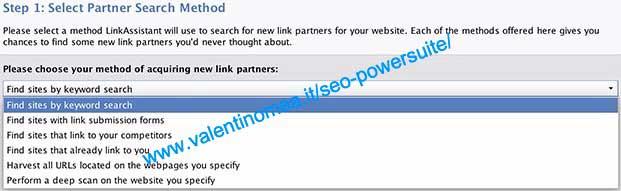 LinkAssistant link prospecting