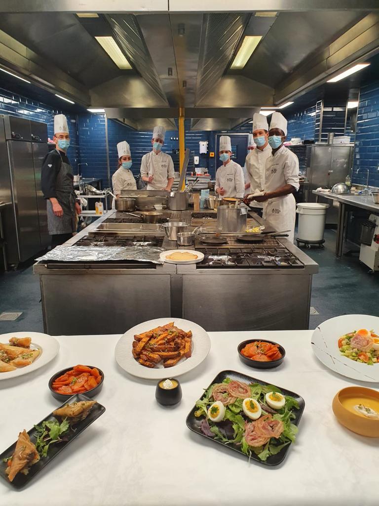 En cuisine à Médéric Paris