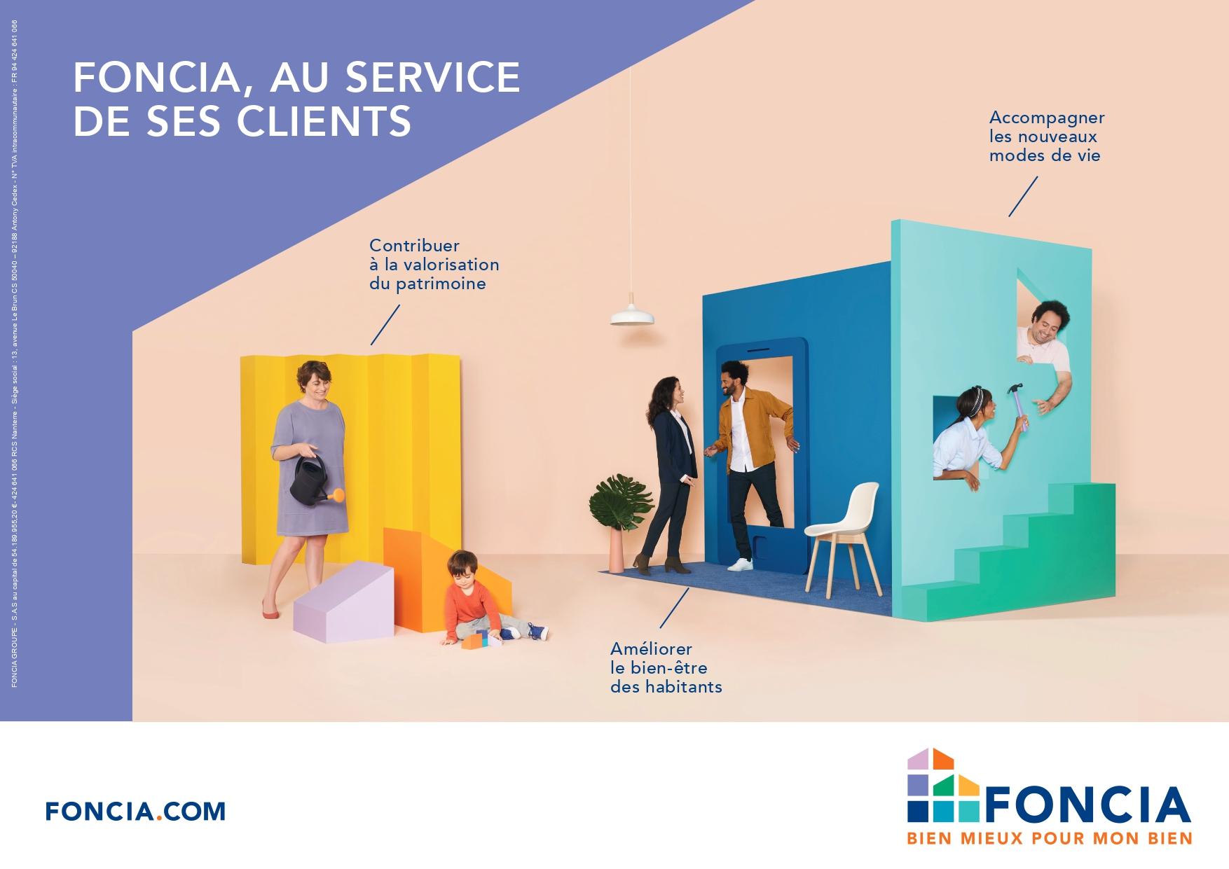 FONCIA AU SERVICE DE SES CLIENTS