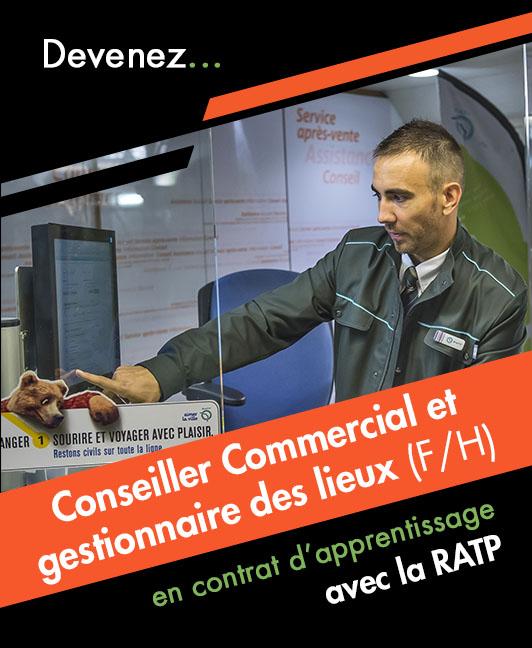 Titre professionnel Conseiller Commercial et Gestionnaire des lieux (H/F)
