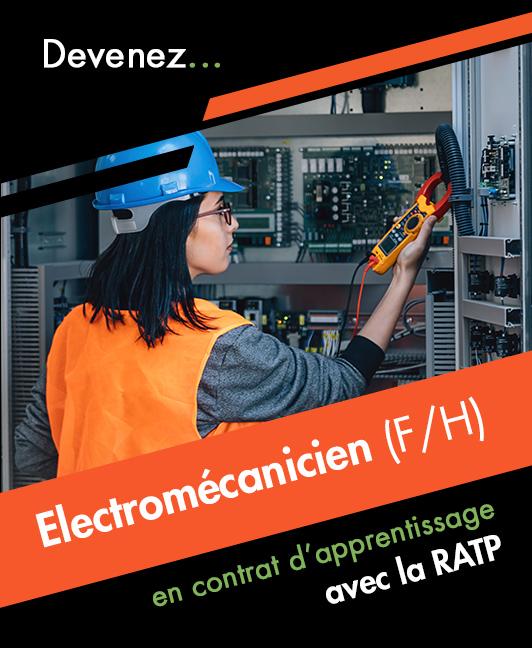 Titre professionnel Electromécanicien(ne) de Maintenance Industrielle