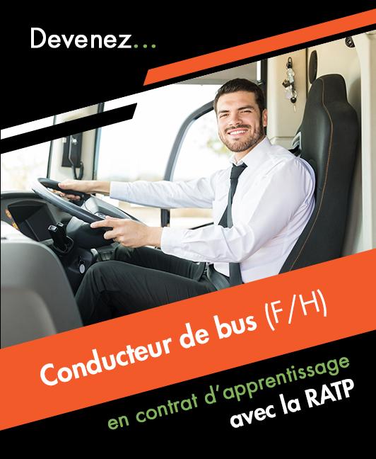 Titre professionnel Conducteur de Transport en Commun sur Route (H/F)