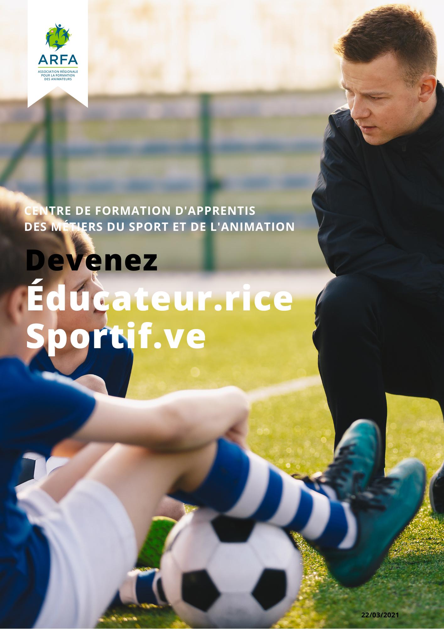 Fiche BPJEPS Educateur Sportif