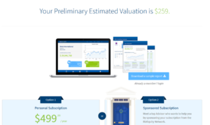 bizequity business valuation calculator business valuation results