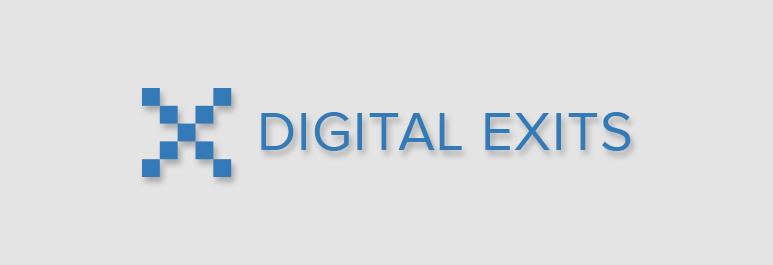 digital exits banner