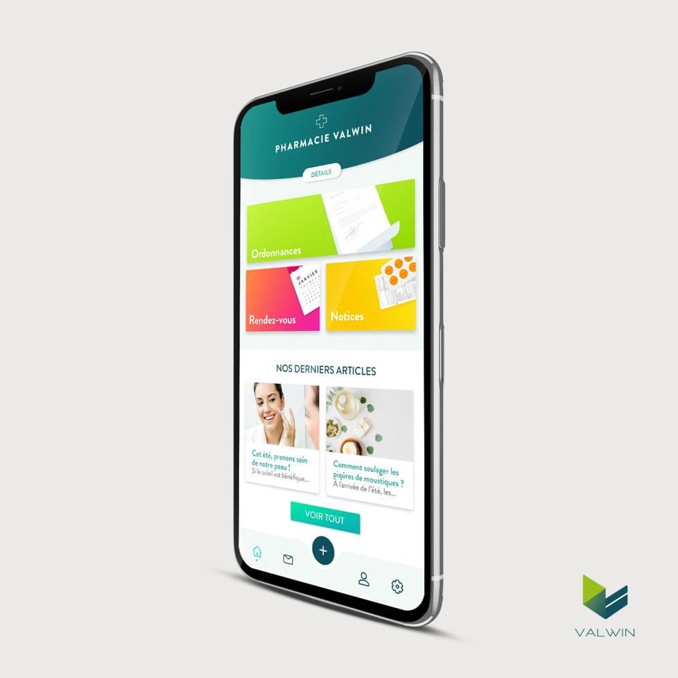 Retrouvez-nous gratuitement sur l'App VALWIN !