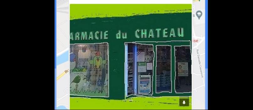 La Pharmacie du Château est appréciée sur GOOGLE