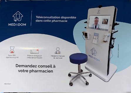 Pharmacie du Château : Téléconsultation avec des médecins