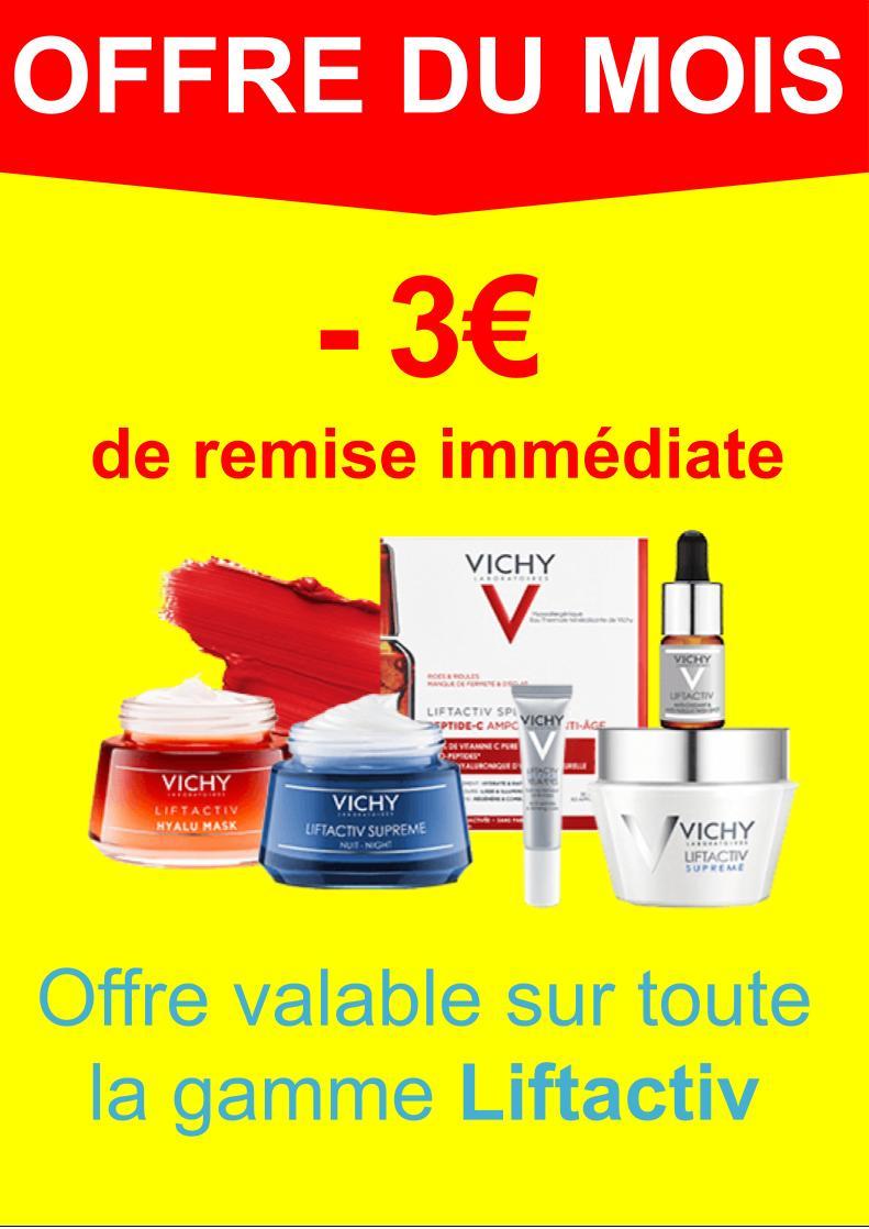 Liftactiv -3€