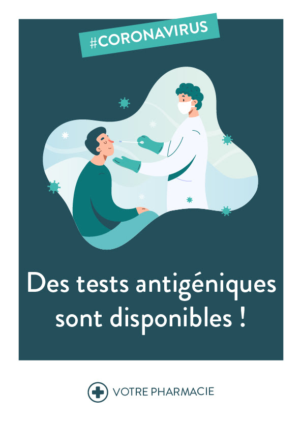 PASS SANITAIRE - TESTS  ANTIGENIQUES
