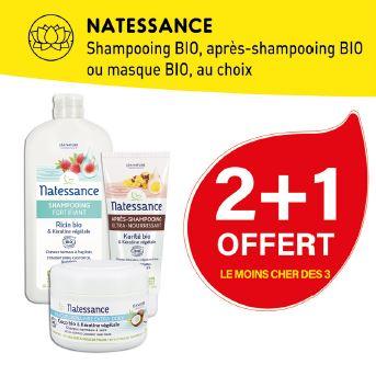 PROMO NATESSANCE Shampoing, Après-Shampoing