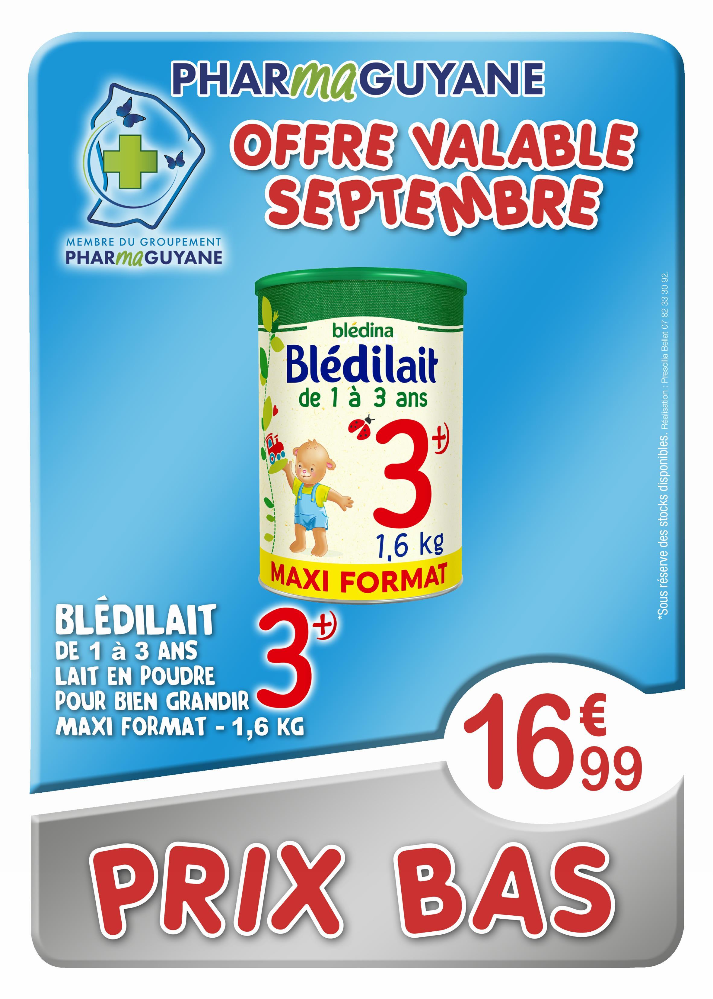 BLEDILAIT Croissance 1,6 KG