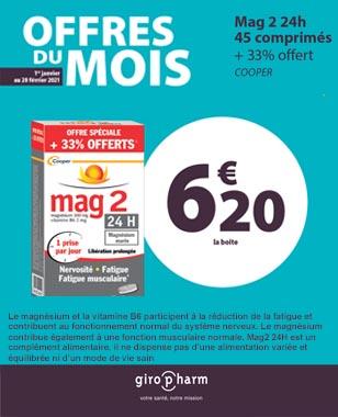 Offre Spéciale MAG 2 / 24h
