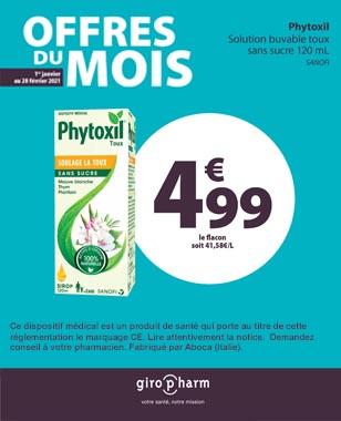 Offre Spéciale PHYTOXIL