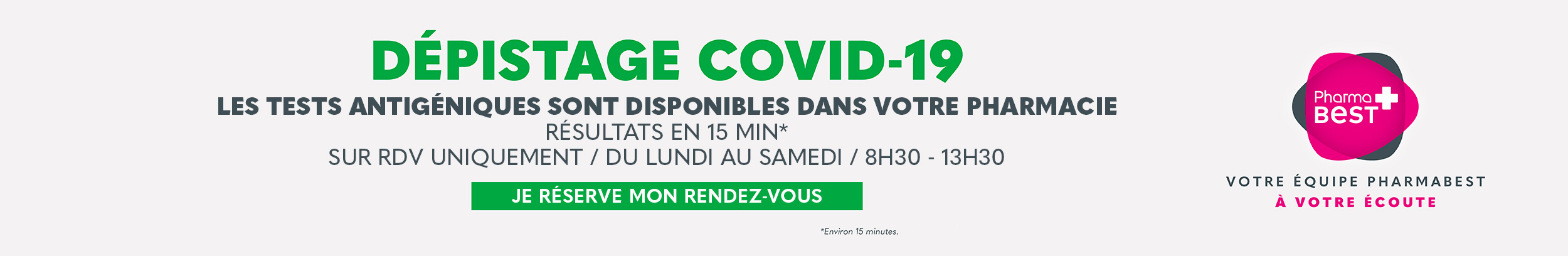 Dépistage COVID-19 - Fort de France