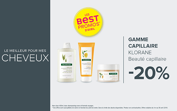 GAMME CAPILLAIRE - KLORANE