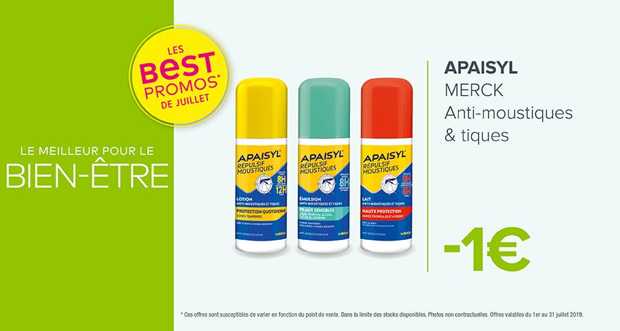 APAISYL - MERCK / Anti-moustiques & Tiques