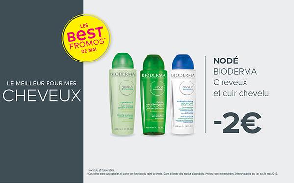NODÉ - BIODERMA / Cheveux et cuir chevelu