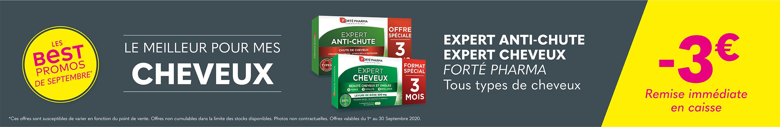 EXPERT ANTI-CHUTE EXPERT CHEVEUX - FORTÉ PHARMA - Tous types de cheveux