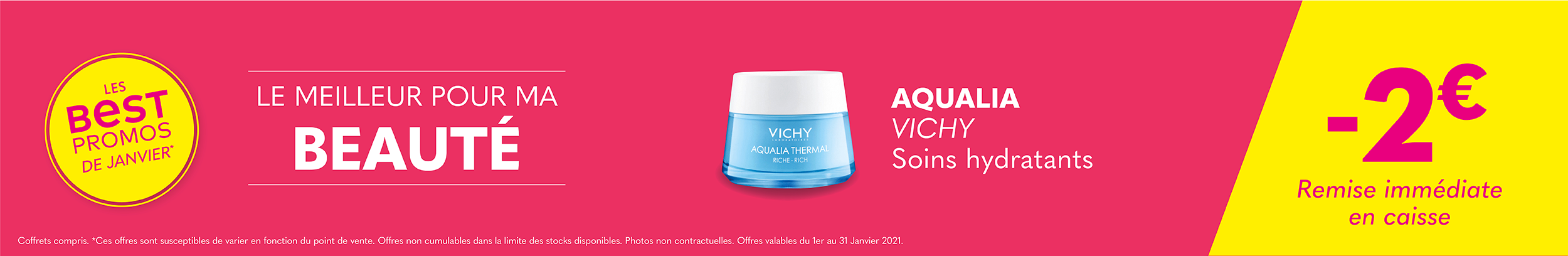 AQUALIA VICHY / Soins hydratants