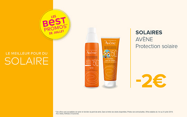 SOLAIRES - AVÈNE / Protection solaire