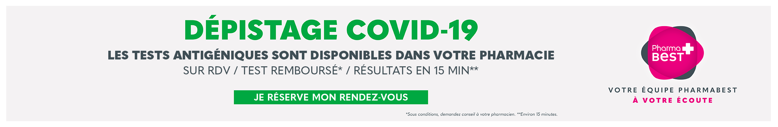 Dépistage COVID-19 - Carcassonne