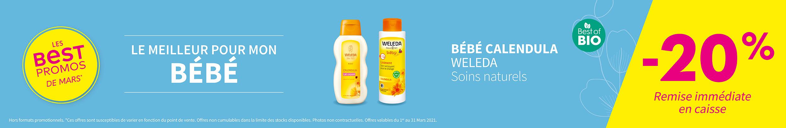BÉBÉ CALENDULA - WELEDA - Soins naturels / Best of Bio
