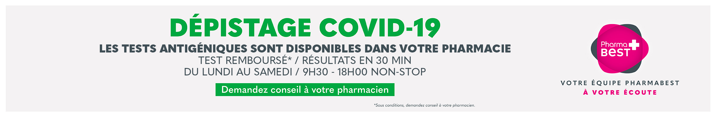 Dépistage Covid-19 -  Vannes