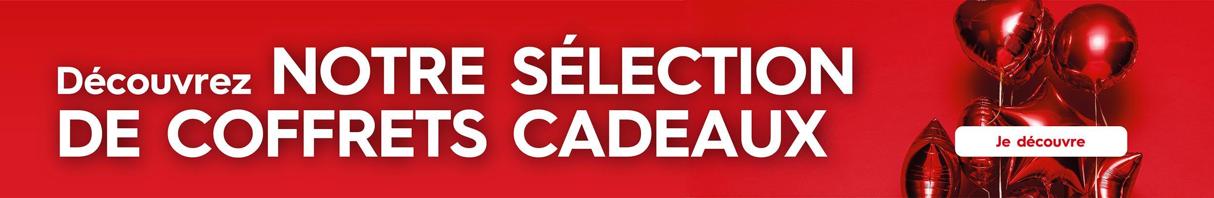 Découvrez notre sélection de COFFRETS CADEAUX