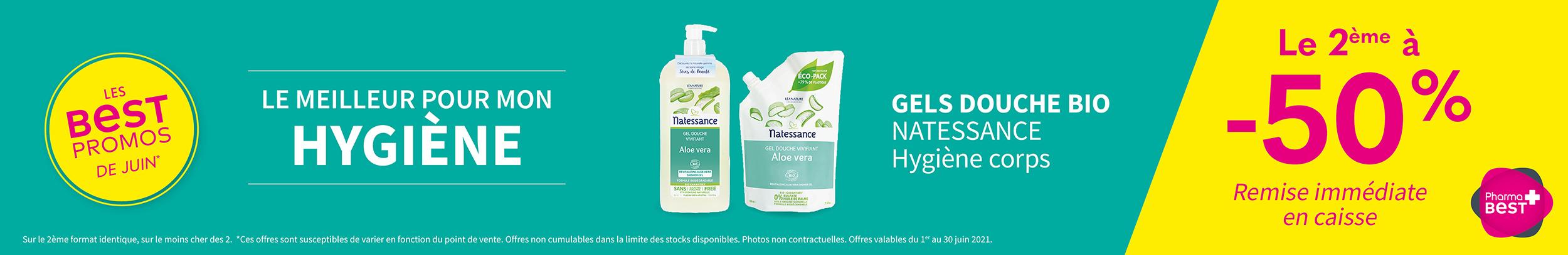 GELS DOUCHE BIO - NATESSANCE / Hygiène corps