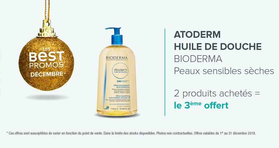 ATODERM HUILE DE DOUCHE